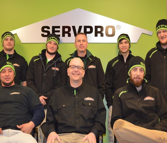 SERVPRO of Gurnee & SERVPRO of Libertyville/ N. Chicago City/ Lake Bluff Crew Photo